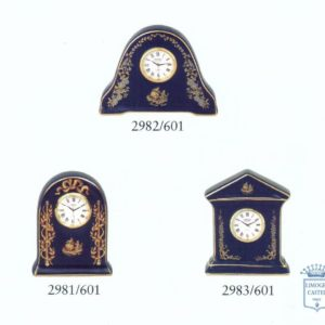 Relojes de mes en porcelana